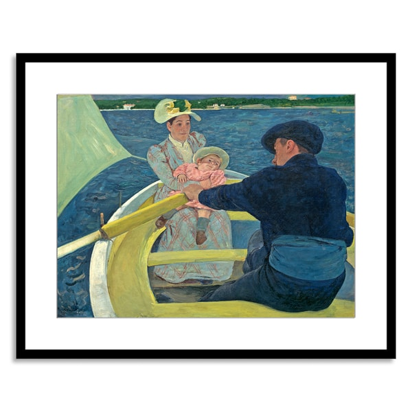 Gallery Direct Mary Cassatt 'The Boating Party, 1893-94' Framed Paper Art 15141564