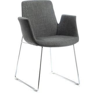 Modrest Altair Modern Grey Fabric DIning Chair