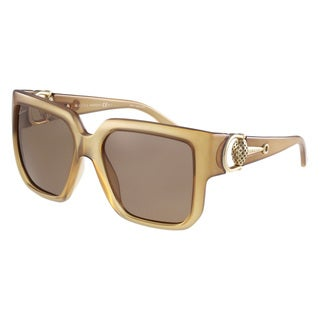 Gucci Women's 3713/S Plastic Rectangular Sunglasses