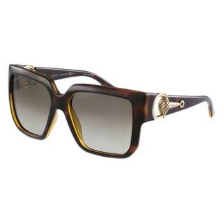 Gucci Women's 3713/S Plastic Rectangular Sunglasses