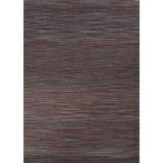 Naturals Solid Pattern Multi/ Multi Area Rug (8' x 10')