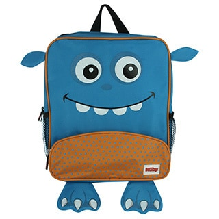 Nuby Blue Monster Backpack with Insulated Lunch Bag