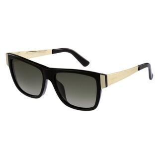 Gucci Women's 3718/S Plastic Rectangular Sunglasses
