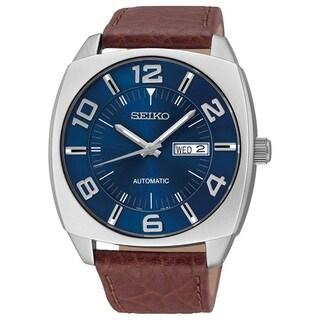 Seiko Men's SNKN37 Stainless Steel 21 Jewel Automatic Watch