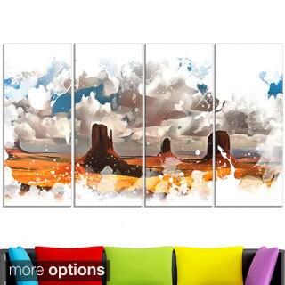 Design Art 'Monument Valley National Park' Canvas Art