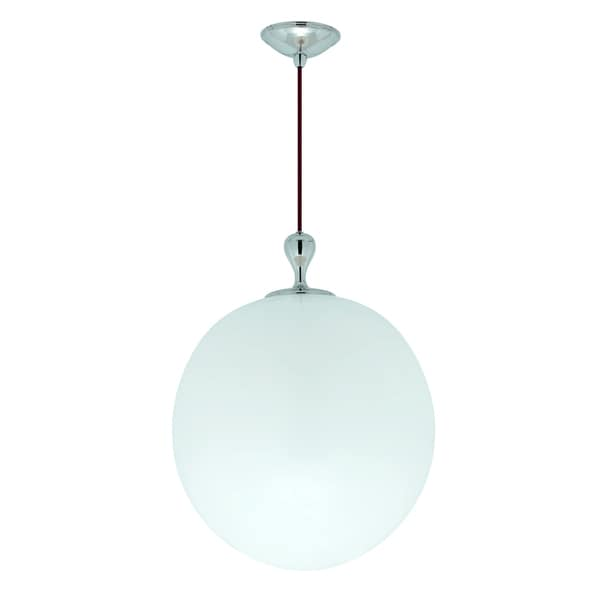 Persona 1-light Polished Nickel Pendant