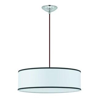 Snare 4-light Brushed Nickel Pendant