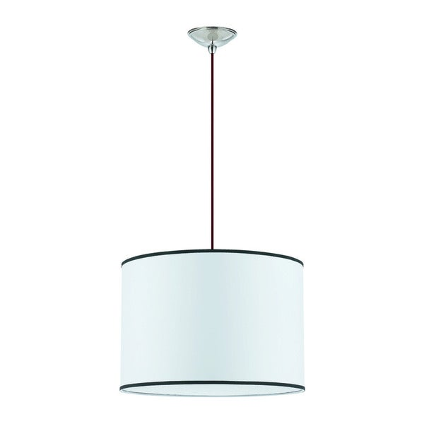Small Tom Tom 4-light Brushed Nickel Pendant