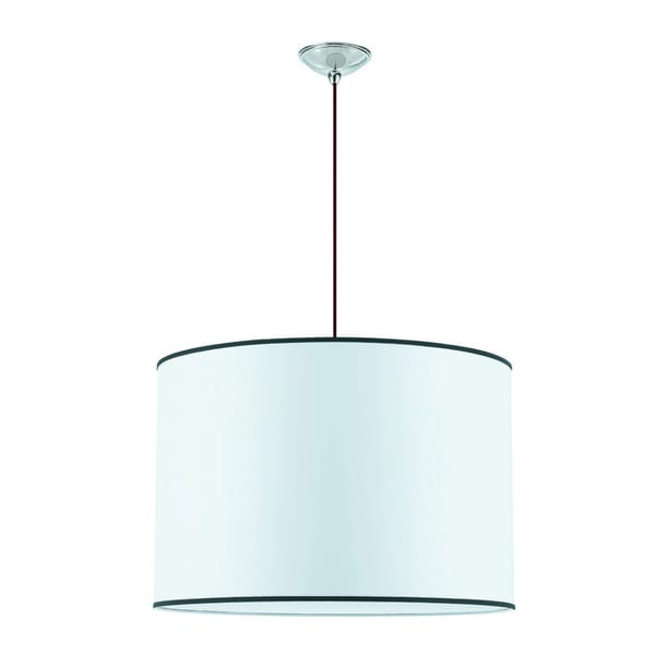 Medium Tom Tom 6-light Brushed Nickel Pendant