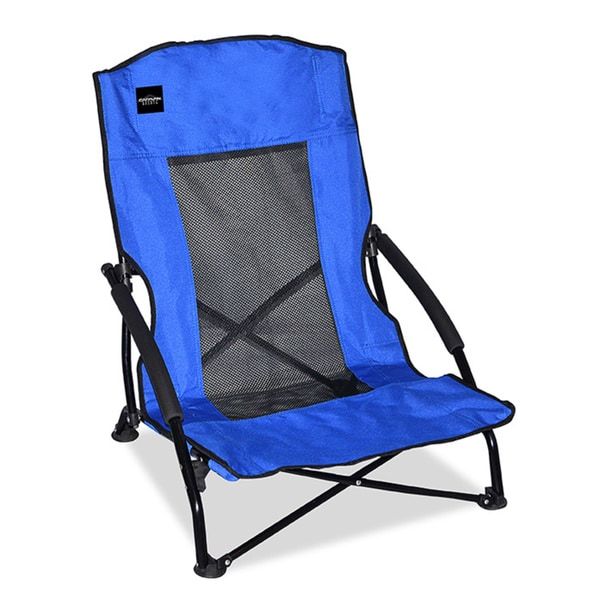 Caravan Sports Blue pact Low back Folding Chair Overstock