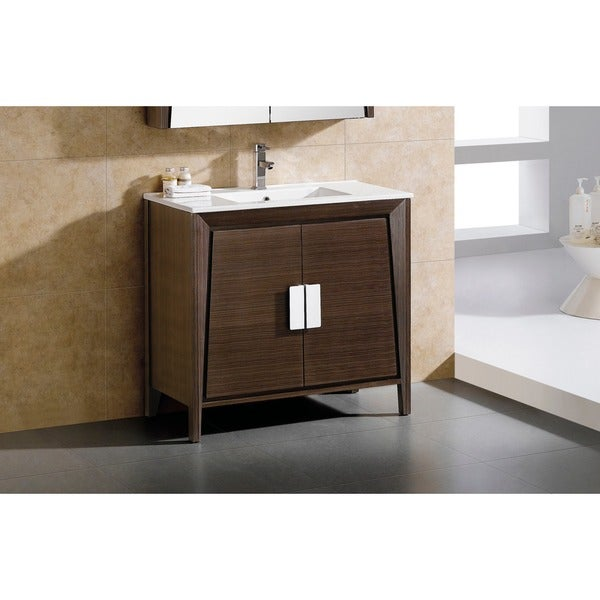 fixtures imperial ii 36 inch bath vanity with vitreous china sink top