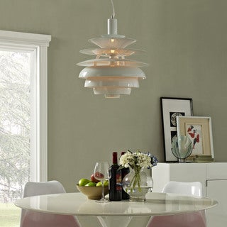 "Rebound 17"" Stainless Steel Chandelier"