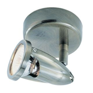 Cambridge 1-Light Brushed Nickel 6 in. Track Light