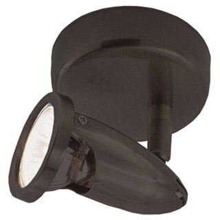 Cambridge 1-Light Rubbed Oil Bronze 6 in. Track Light