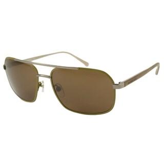 Michael Kors Men's MKS351M Brady Aviator Sunglasses