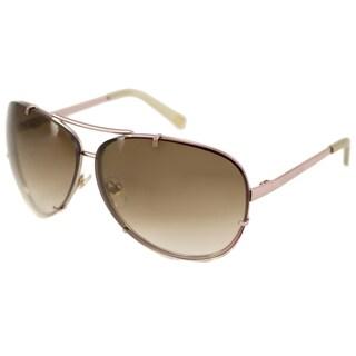 Michael Kors Women's M2052S Stella Aviator Sunglasses