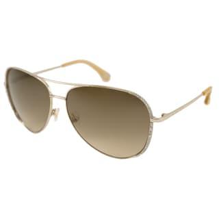 Michael Kors Women's M2062S Sadie Aviator Sunglasses