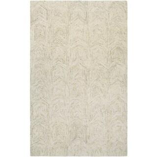 Graphite Chevron Ivory/ Sand Rug (8' x 11')