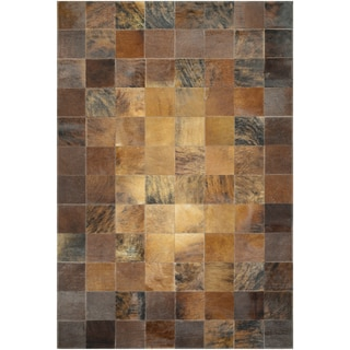 Chalet Tile Brown Rug (8' x 11'4)
