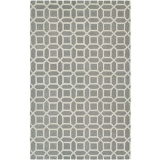 Bowery Havemeyer Charcoal/ Grey Rug (7'9 x 10'7)