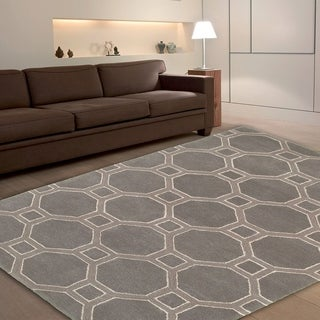 Luxor Grey Area Rug (9' x 12')