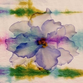Parvez Taj 'Watercolor Azalea' Canvas Art