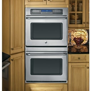 GE Cafe Series CT959STSS Stainless Steel 30-inch Double Wall Oven