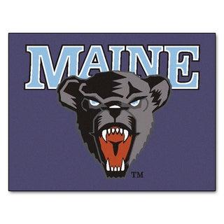 Fanmats University of Maine Purple Nylon Allstar Rug (2'8 x 3'8)
