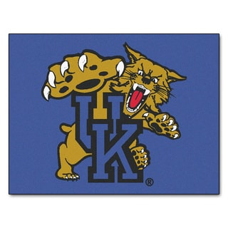 Fanmats University of Kentucky Blue Nylon Allstar Rug (2'8 x 3'8)