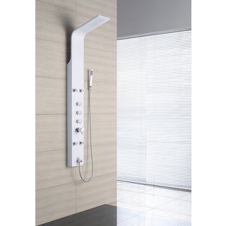 OVE Decors OSC-23 4-Jet Shower Tower System in White