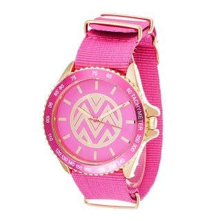 The Macbeth Collection Bright Pink Women's Watch