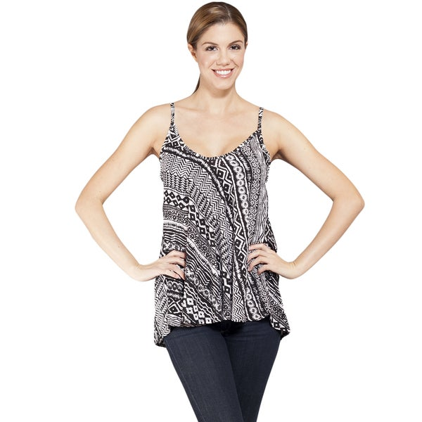 Women's Printed Light Colroful Summer Tank Top