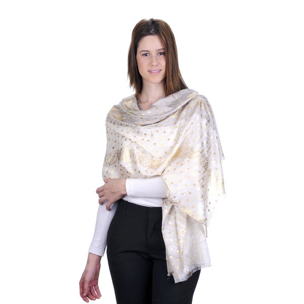 J. Furmani Golden Accent Scarf