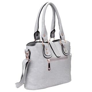 J. Furmani Vegan Leather Tote Handbag
