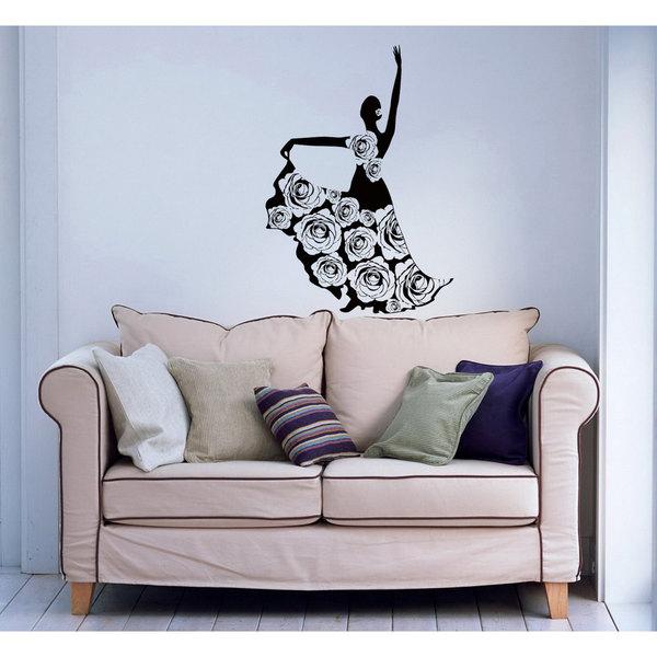 Flamenco Dancer Vinyl Wall Art