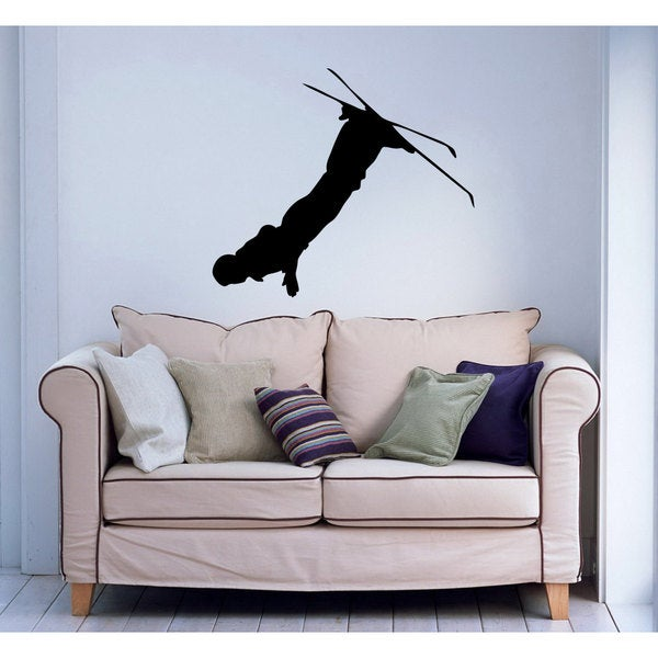 Alpine Ski Sticker Vinyl Wall Art