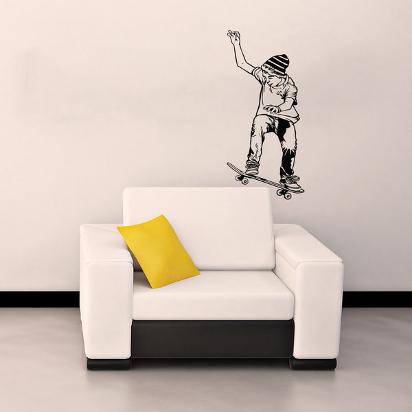 Skateboard Sticker Vinyl Wall Art