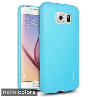 Insten Frosted Ultra Slim TPU Rubber Candy Skin Phone Case Cover For Samsung Galaxy S6