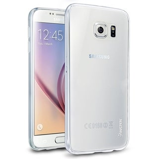 Insten Clear Ultra Slim TPU Rubber Candy Skin Phone Case Cover For Samsung Galaxy S6