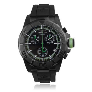 Invicta Men's 'Pro Diver' 12156 Polyurethane Chronograph Watch