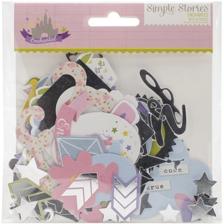 Enchanted Bits & Pieces Die-Cuts-With Silver Accents