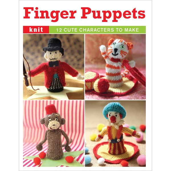 Guild Of Master Craftsman Books-Finger Puppets