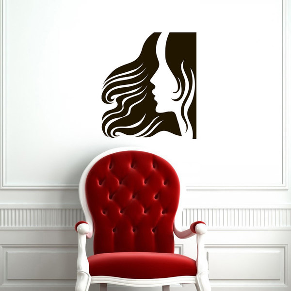 At the Salon Vinyl Wall Art