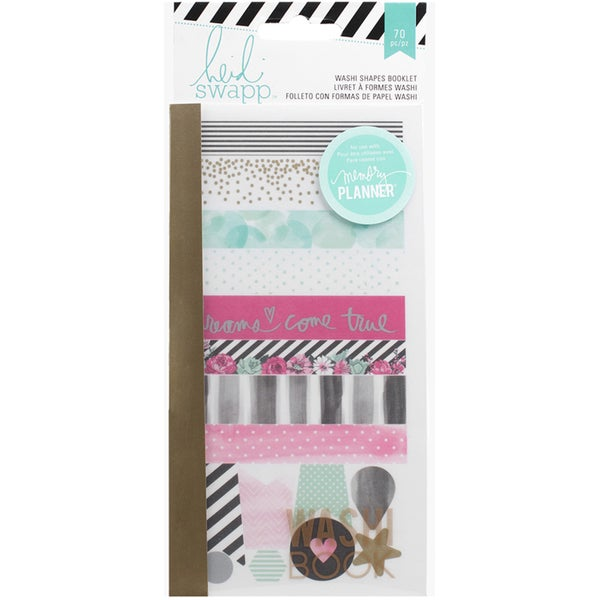 Heidi Swapp Hello Beautiful Washi Booklet-Shapes