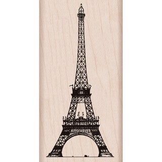 """Hero Arts Mounted Rubber Stamp 2""""X4""""-Eiffel Tower"""