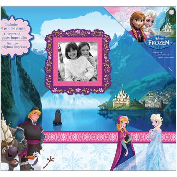 Disney's Frozen Post Bound Album 12inX12in