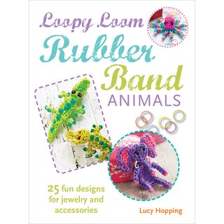 Cico Books-Loopy Loom Rubber Band Animals