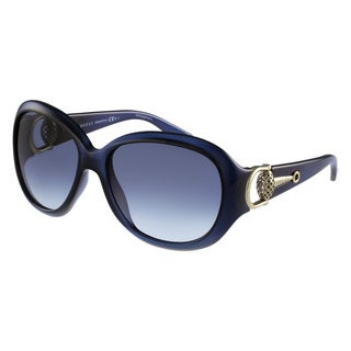 Gucci Women's 3712/S Plastic Rectangular Sunglasses