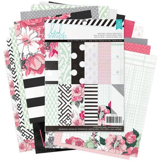 "Heidi Swapp Paper Pack 6""X8"" 36/Pkg-Hello Beautiful"