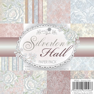 "Wild Rose Studio Ltd. Paper Pack 6""X6"" 36/Pkg-Silverton Hall"